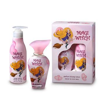 MAGI WITCH set fragrance + deodorant for girls בשמים במבצע   בושם לאישה   בושם לגבר   בשמים