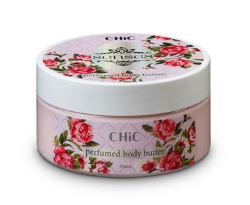 CHIC Body Butter - Vavilla  Gardenia - Pink Senses בשמים במבצע | בושם לאישה | בושם לגבר | בשמים