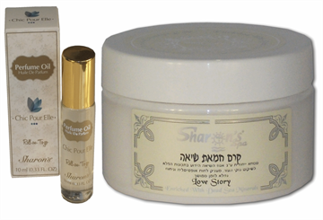Sharon's Integrated Package - Shea Butter + Roll-On P.Oil - Chic Pour Elle בשמים במבצע | בושם לאישה | בושם לגבר | בשמים