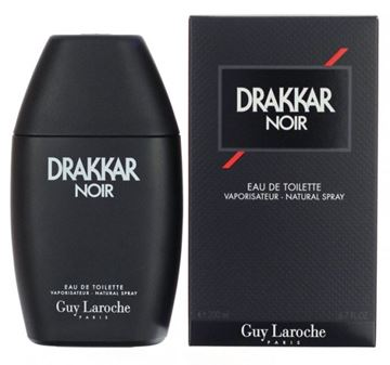 "תמונה של בושם דרקר נואר גאי לרוש 200מ""ל א.ד.ט  -  Drakkar Noir Guy Laroche 200ml E.D.T - בושם לגבר"