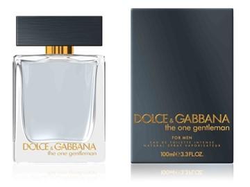 """תמונה של בושם דה וואן ג'נטלמן של דולצ'ה וגבאנה 100מ""""ל א.ד.ט - The One Gentleman by Dolce & Gabbana 100ml E.D.T - בושם לגבר"""