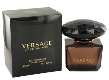"""בושם קריסטל נואר ורסצ'ה 90מ""""ל א.ד.פ - Crystal Noir By Versace 90ml E.D.P - בושם לאישה"""