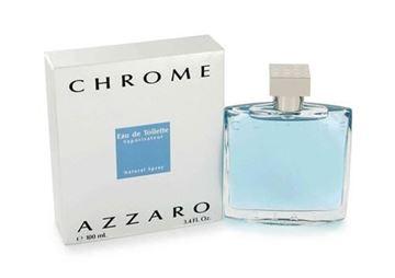 """בושם כרום אזארו 100מ""""ל א.ד.ט - Chrome Azzaro 100ml E.D.T"""