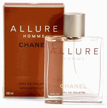 Chanel Allure 100ml E.D.T - Men's Perfume בשמים במבצע | בושם לאישה | בושם לגבר | בשמים