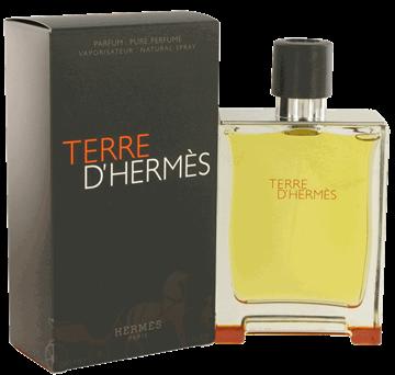 """תמונה של בושם טרה הרמס 200מ""""ל א.ד.פ  -  Terre D'Hermes 200ml E.D.P - בושם לגבר"""