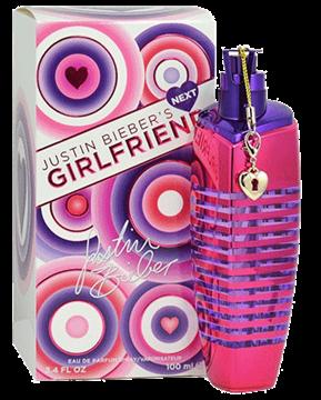 """תמונה של בושם נקסט גירלפריינד ג'סטין ביבר 100מ""""ל א.ד.פ  -  Justin Bieber's Next Girlfriend 100ml E.D.P - בושם לאישה"""
