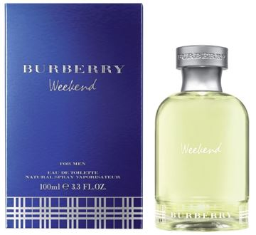 "בושם ויקנד 100מ""ל א.ד.ט ברברי Weekend Burberry100ml EDT - בושם לגבר"
