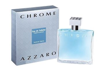 """בושם כרום אזארו 200מ""""ל א.ד.ט - Chrome Azzaro 200ml E.D.T - בושם לגבר"""