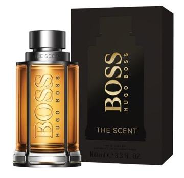 """בושם דה סנט הוגו בוס 100מ""""ל א.ד.ט - Hugo Boss The Scent 100ml E.D.T - בושם לגבר"""