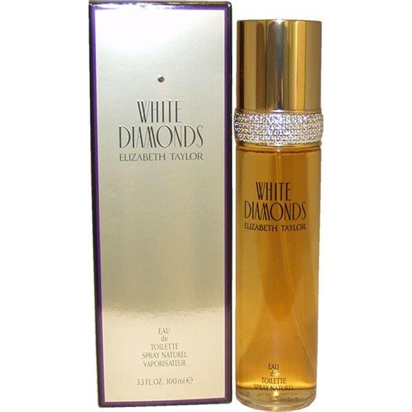 בושם לאשה White Diamonds 100ml E.D.T וויט דיימונדס אליזבת טיילור Elizabeth Taylor מקורי בשמים חדשים | בושם לאישה  | בושם לגבר | בשמים במבצע