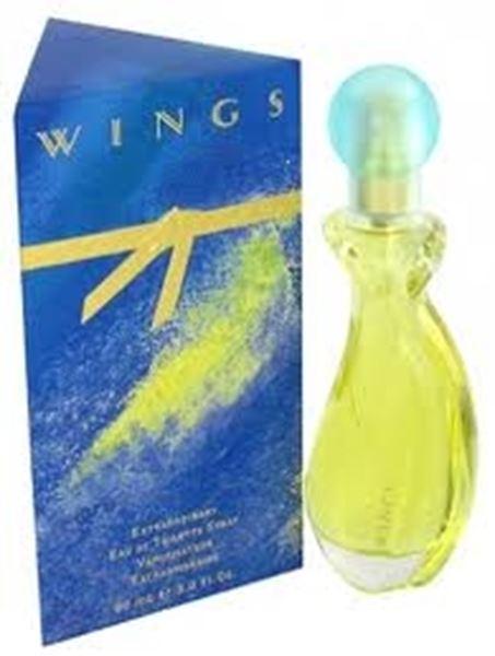 בושם לאשה Wings 90ml E.D.T ווינגס ג'ורג'יו בברלי הילס Giorigio Beverly Hills מקורי בשמים חדשים | בושם לאישה  | בושם לגבר | בשמים במבצע