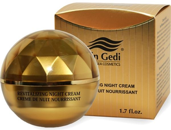 Ein-Gedi  Cosmetics - Gold Collection - Mineral  Night Cream 50ml  בשמים | בושם לגבר | בושם לאישה | בשמים חדשים