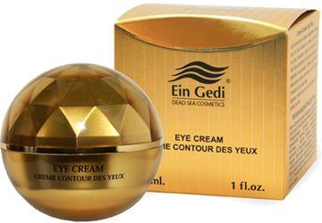 Ein-Gedi Cosmetics - Gold Collection - Mineral Eye Cream 30ml בשמים במבצע | בושם לאישה | בושם לגבר | בשמים