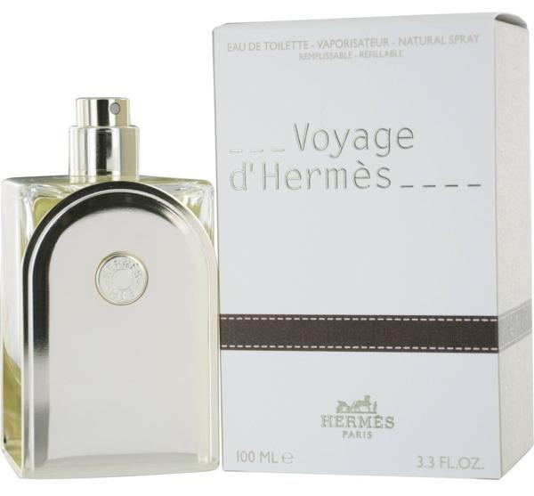בושם לאשה Voyage D'hermes Refillable 100ml E.D.T וויאז' דה הרמס Hermes בשמים חדשים | בושם לאישה  | בושם לגבר | בשמים במבצע