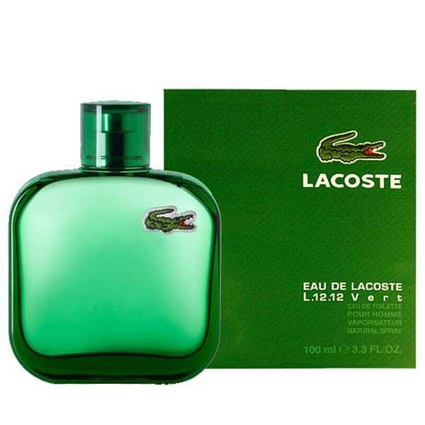 בושם לגבר Eau De Lacoste Vert 100ml או דה לקוסט ורט לקוסט Lacoste מקורי בשמים חדשים | בושם לאישה  | בושם לגבר | בשמים במבצע