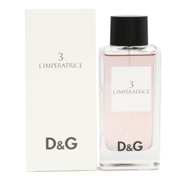 תמונה של לימפרטריס מספר 3 דולצ'ה גבאנה - Dolce Gabbana L'Imperatrice Number 3 100 E.D.T - בושם לאישה מקורי