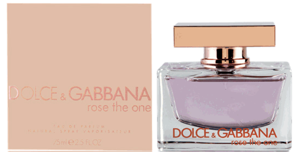 Dolce Authentic Gabbana Perfume 75ml The Rose Women's One Edp yY6bf7g