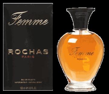 """תמונה של בושם רושאס פם 100מ""""ל א.ד.ט - Rochas Femme 100ml E.D.T -  בושם לאישה  מקורי"""