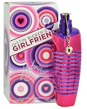 Justin Biebers Next Girlfriend 100ml EDP - Women's Perfume Authentic בשמים במבצע | בושם לאישה | בושם לגבר | בשמים