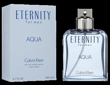 """בושם איטרניטי אקווה קלווין קליין 200מ""""ל א.ד.ט - Eternity Aqua By Calvin Klein 200ml E.D.T"""