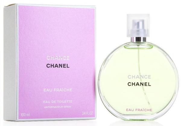 """בושם שאנל צ'אנס אאו פראש 100מ""""ל א.ד.ט - Chanel Chance Eau Fraiche 100ml E.D.T"""