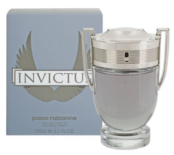 """בושם אינוויקטוס - פאקו ראבן 150מ""""ל א.ד.ט - Invictus Paco Rabanne 150ml E.D.T - בושם לגבר"""