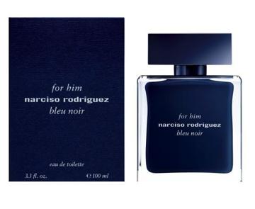 """בושם נרסיסו רודריגז בלו נואר 100מ""""ל א.ד.ט - Narciso Rodriguez Bleu Noir 100ml E.D.T - בושם לגבר"""