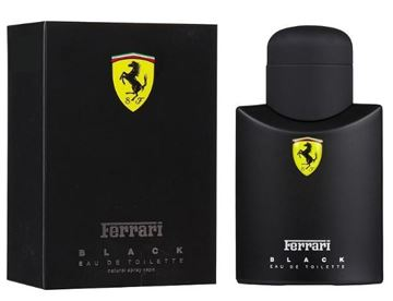 "בושם פרארי בלאק 125מ""ל א.ד.ט- Ferrari Black 125ml E.D.T- בושם לגבר"