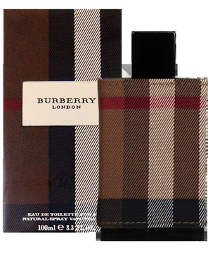 "בושם ברברי לונדון 100מ""ל א.ד.ט - Burberry London 100ml E.D.T"