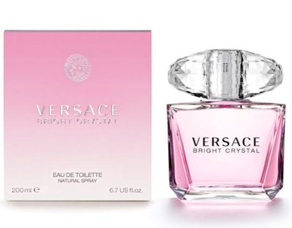 בושם לאשה Bright Crystal 200ml E.D.T ברייט קריסטל ורסצ'ה Versace