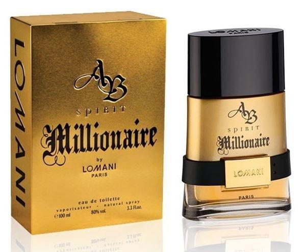 """בושם מיליונר לומאני 100מ""""ל א.ד.ט -Millionare Lomani 100ml E.D.T - בושם לגבר"""