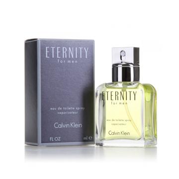"""תמונה של בושם איטרניטי קלווין קליין 100מ""""ל א.ד.ט  -  Eternity Calvin Klein 100mlE.D.T  - בושם לגבר מקורי"""