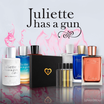 Juliette Has a Gun travel set